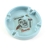 1953-65 Milwaukee Braves Decal Ceramic Ashtray