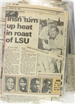 1984-85 Michael Jordan Chicago Bulls Rookie Season Newspaper Clippings
