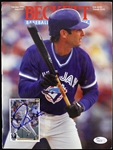 Paul Molitor Cover Photo Signed Vintage 1990s Era Beckett Magazine, Blue Jays / Twins / Brewers *JSA*
