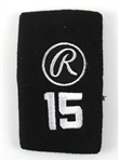 Rafael Furcal Game Used #21 Rawlings Wristband