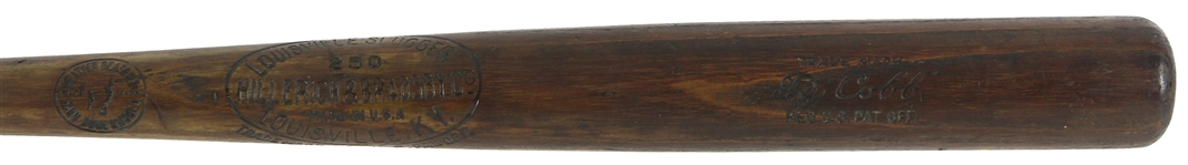 1921-31 Ty Cobb Tigers/Athletics H&B Louisville Slugger Professional Model Bat (MEARS A5 & PSA/DNA)