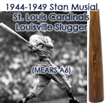1944-49 Stan Musial St. Louis Cardinals Signed H&B Louisville Slugger Professional Model Bat (MEARS A6/JSA & PSA/DNA