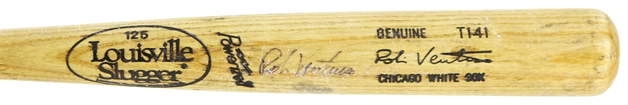 1991-97 Robin Ventura Chicago White Sox Signed Louisville Slugger Professional Model Game Used Bat (MEARS LOA/JSA)