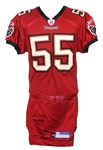2006 Derrick Brooks Tampa Bay Buccaneers Home Jersey (MEARS LOA)