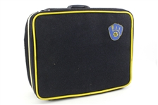 1978-84 Mike Caldwell Milwaukee Brewers Travel Suitcase (MEARS LOA)