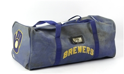 1991-93 Robin Yount Milwaukee Brewers Starter Equipment Bag (MEARS LOA)