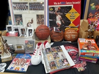 1980s to Present Basketball Lot (200+ Items) Featuring Michael Jordan, Chicago Bulls, Autographs & More!