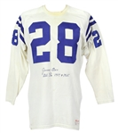 1967-68 Jimmy Orr Baltimore Colts Game Worn Road Jersey (MEARS LOA)