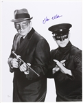 "1966 Van Williams (d. 2016) Green Hornet W/ Kato Signed LE 16x20 Color Photo (JSA) ""Signed At His Very Last Private Signing"""