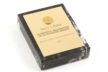 "1980 Harry Dalton Milwaukee Brewers General Manager 3""x4"" Wisconsin Society to Prevent Blindness, Inc. Award"