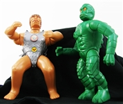 1976-1977 Hasbro GI Joe Adventure Team Intruder Commander & Gor King of Terrons Action Figure (2)