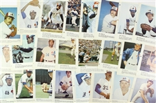 1970s Montreal Expos 8 x 11 Photos in French (Lot of 46)