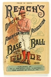 "1888 Reach Official Baseball Guide ""Extremely High Grade"""