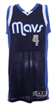 2014-15 Greg Smith  Dallas Mavericks Game Worn Road Jersey (MEARS LOA)