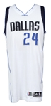 2015 Samuel Dalembert  Dallas Mavericks Game Worn Home Jersey (Pre-Season)(MEARS LOA)