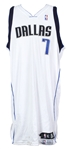 2007-08 Desagana Diop Dallas Mavericks Game Worn Home Jersey (MEARS LOA)