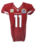 2012 Larry Fitzgerald Arizona Cardinals Game Used Home Jersey (MEARS A10)