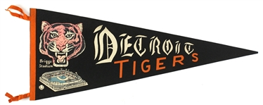 "1935-1961 Detroit Tigers 29"" Pennant"