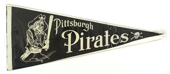 "1950s Vintage Pittsburgh Pirates 29"" Pennant"