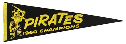 "1960's Pittsburgh Pirates 26"" Pennant"
