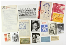 1940s-1950's Hollywood Stars Minor League Baseball Team Memorabilia