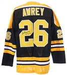 1963-1972 Don Awrey Boston Bruins Signed Jersey (JSA)