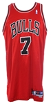 2004-2005 Ben Gordon Chicago Bulls Autographed Road Jersey (MEARS A5)