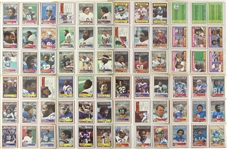 1983 Topps NFL Trading Cards with Over 100 Cards Autographed (Lot of 396)(JSA)