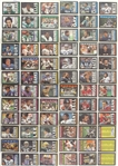 1985 Topps NFL Trading Cards with 100 Cards Autographed (Lot of 396)(JSA)