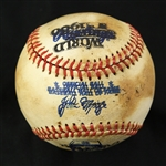 1980-81 Rawlings World Series/John Mize Hall of Fame Double Stamped Baseball