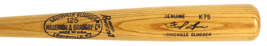 1977-79 Fred Lynn Boston Red Sox H&B Louisville Slugger Professional Model Game Used Bat (MEARS LOA)