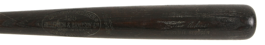 1977-79 Willie Aikens California Angels Rookie Era Louisville Slugger Professional Model Game Used Bat (MEARS LOA)
