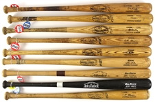1960's – 1980's Professional Model Game Used bat Collection Lot of 25 w/ Rico Carty, Ray Fosse, Al Bumbry, Bob Boone, Bob Horner, Jim Hickman, and more (MEARS LOA)