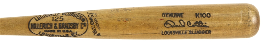 1977-79 Chuck Cottier Angels/Mets H&B Louisville Slugger Professional Model Fungo Bat (MEARS LOA)