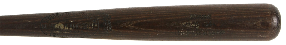 1965-68 Bobby Tolan St. Louis Cardinals H&B Louisville Slugger Professional Model Game Used Bat (MEARS LOA)