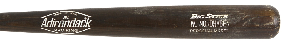1980 Wayne Nordhagen Chicago White Sox Adirondack Professional Model Game Used Bat (MEARS LOA)