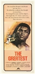 "1977 Muhammad Ali The Greatest 15"" x 32"" Film Poster"