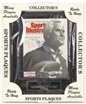 "1993 Don Shula Miami Dolphins Signed Sports Illustrated and 12"" x 15"" Plaque (JSA)"