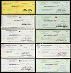 "1970s-1980s Allan ""Bud"" Selig Milwaukee Brewers Signed Checks (Lot of 24)(JSA)"