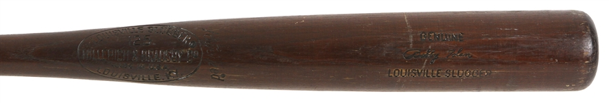 1973-75 Bobby Tolan Reds/Padres H&B Louisville Slugger Professional Model Game Used Bat (MEARS LOA)