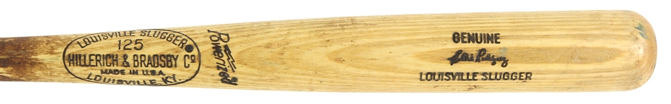 1973-75 Ellie Rodriguez Brewers/Angels H&B Louisville Slugger Professional Model Game Used Bat (MEARS LOA)