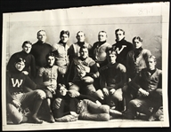 1901 Wisconsin Badgers Team Photo
