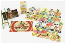 Mickey Mouse Seed Packets