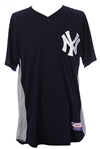 2007 Yogi Berra New York Yankees Signed Game Worn Spring Training Jersey (MEARS A10/Steiner/*Full JSA Letter*)