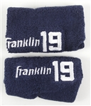 1982-2001 Tony Gwynn San Diego Padres Game Worn Wristbands