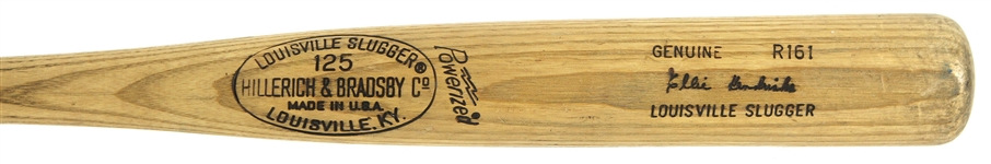 1977-79 Ellie Hendricks Yankees/Orioles H&B Louisville Slugger Professional Model Game Used Bat (MEARS LOA)