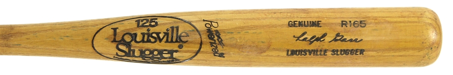 1980 Ralph Garr California Angels Louisville Slugger Professional Model Game Used Bat (MEARS LOA)