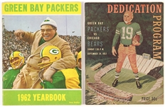 1950s-1960s Green Bay Packers Program and Yearbook