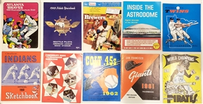 1960-2007 Run of MLB Yearbooks (1,224 Books)