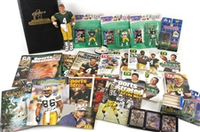 1960s-2000s Newspapers, Magazines, TV Guides, Football Programs Including Green Bay Packers, Elvis, and more (Lot of 70+)